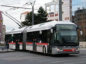 Image montrant un bus du réseau de transport en commun de la ville de Lyon