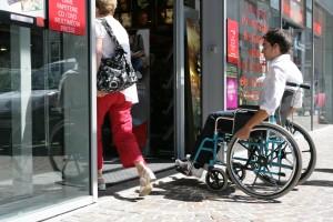 Handicap porte pitonne